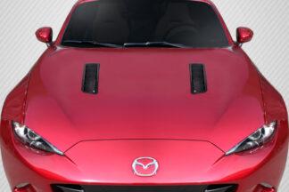 Universal Carbon Creations Race Hood Louver Vents - 2 Piece