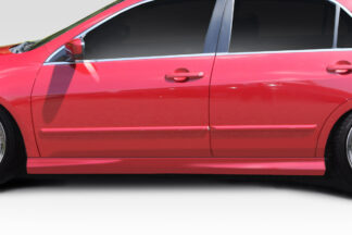 2003-2007 Honda Accord 4DR Duraflex Type M Side Skirts Rocker Panels - 2 Piece