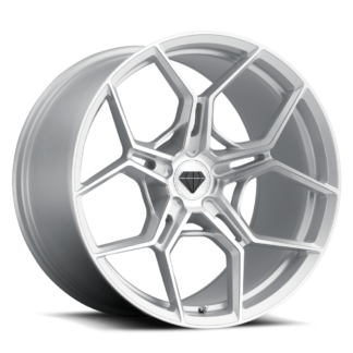 Blaque Diamond BD F-25 Flow Forged Brushed Silver