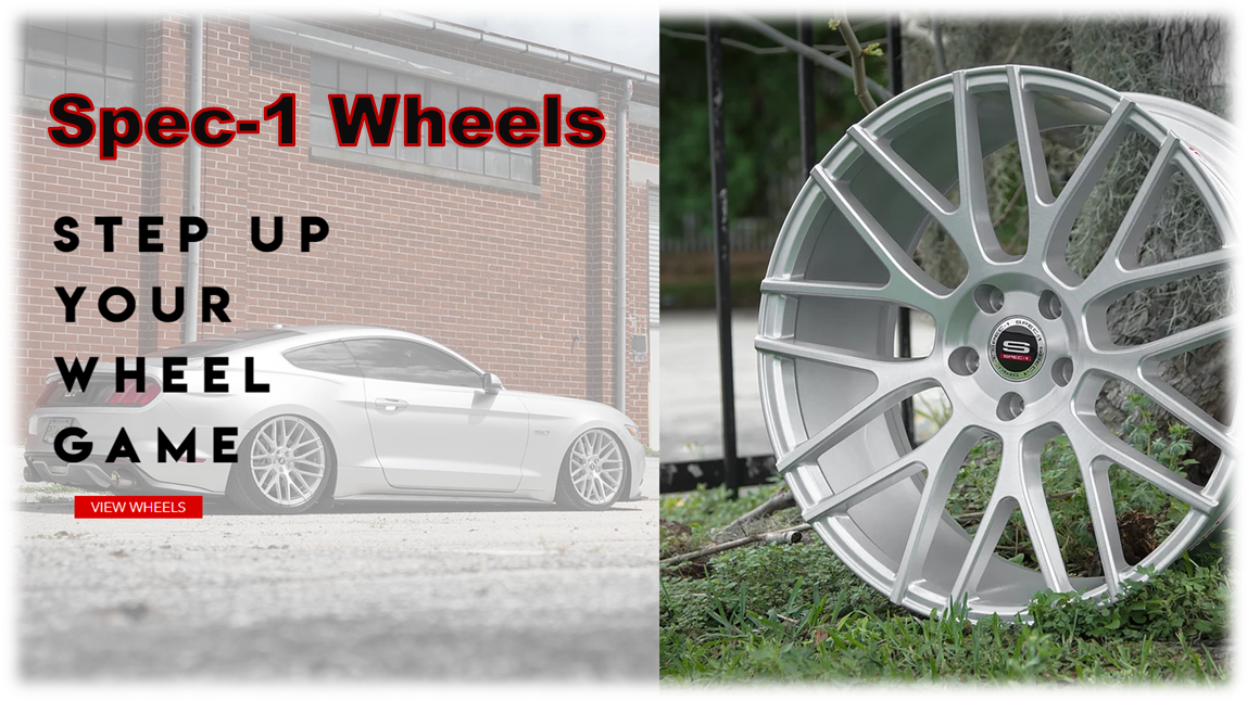 Ready-to-Roll Spec-1 Wheels