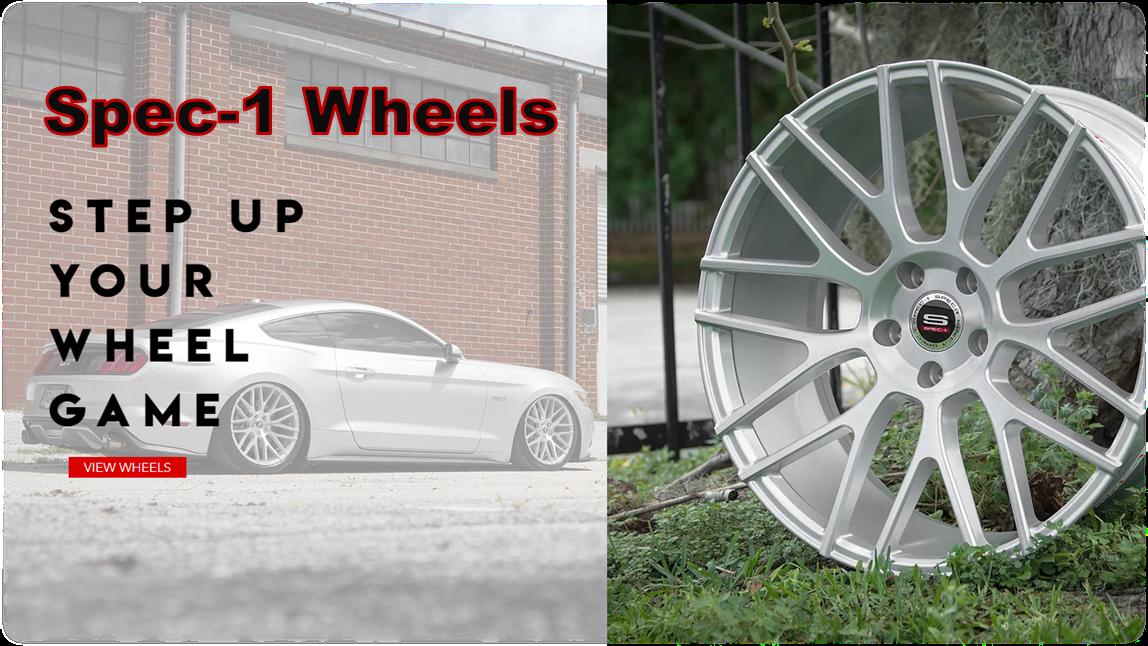 Ready-to-Roll Spec-1 Wheels