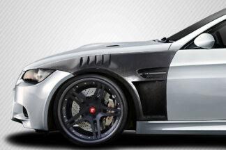 2008-2013 BMW M3 E92 2DR Coupe Carbon Creations GTR Front Fenders - 2 Piece