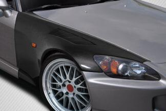 2000-2009 Honda S2000 Carbon Creations EVS Front Fenders - 2 Piece