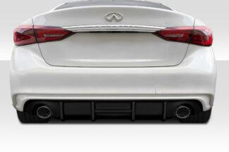 2018-2020 Infiniti Q50 Duraflex SRK Rear Diffuser - 1 Piece