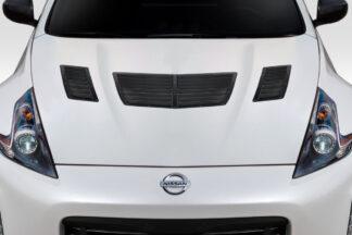 2009-2020 Nissan 370Z Z34 Duraflex GT1 Hood Vents - 3 Piece