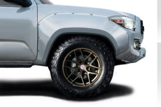 2016-2020 Toyota Tacoma Duraflex Circuit Front Fender Flares - 2 Piece