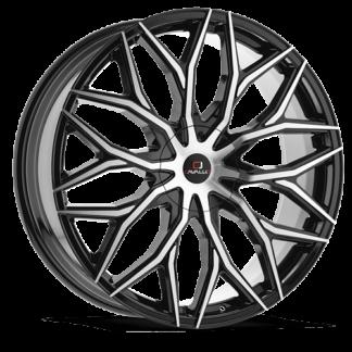 Cavallo Wheels | CLV-37 Gloss Black Machined
