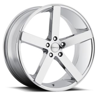 Cavallo wheels | CLV-5 Chrome
