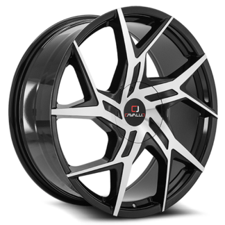 Cavallo Wheels | CLV-26 Gloss Black Machined