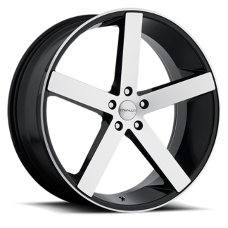Cavallo Wheels | CLV-5 Gloss Black Machine