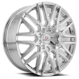 Cavallo Wheels | CLV-24 Chrome