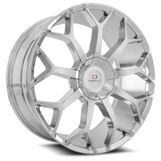 Cavallo Wheels | CLV-22 Chrome