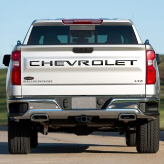 Cheverlet Tailgate Letters Stamped