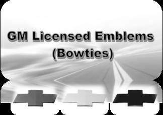 GM Emblem Kits | Black - Chrome - Gunmetal