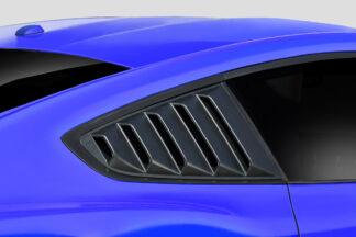 2015-2020 Ford Mustang Duraflex KT Window Scoops - 2 Piece