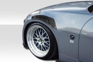 2003-2008 Nissan 350Z Z33 Carbon Creations N Spec Fender Vents - 2 Piece