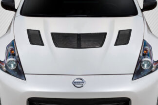 2009-2020 Nissan 370Z Z34 Carbon Creations GT1 Hood Vents - 3 Piece
