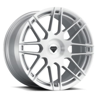 Blaque Diamond | Model BD F-12 | Flow Forged – Brushed Silver